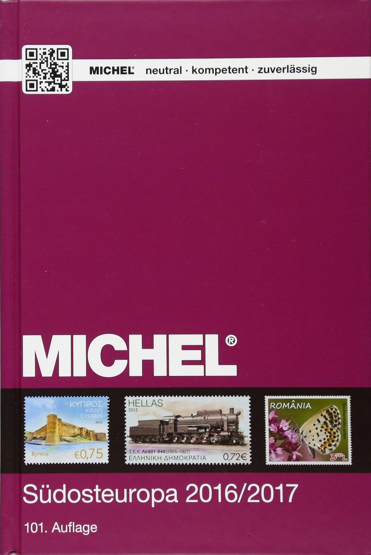MICHEL Südosteuropa 2016/2017: EK 4 (MICHEL-Europa) Taschenbuch – 15. Juli 2016 Michel-Redaktion Schwaneberger 3954021749 Sammlerkataloge
