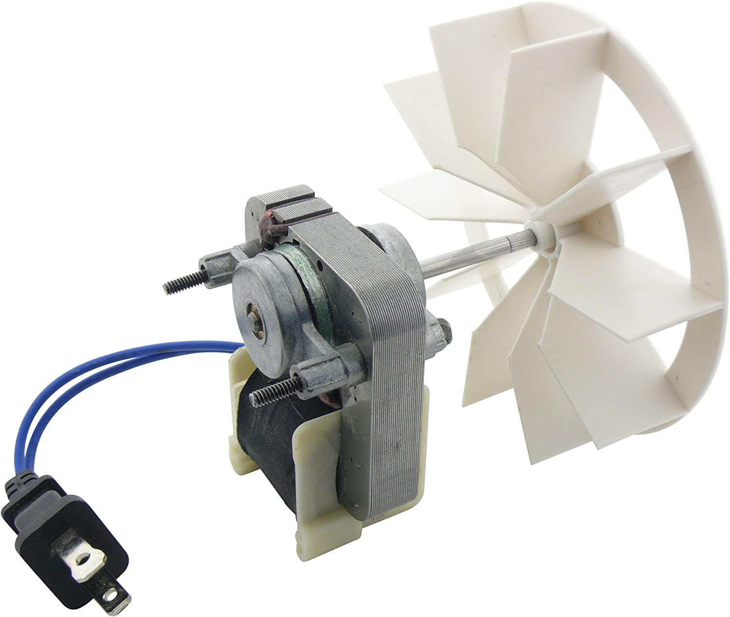Nutone Broan Replacement Vent Fan Motor and blower wheel # 97012041, 50 CFM.9 amps; 120 Volts, 9 Amp/120V