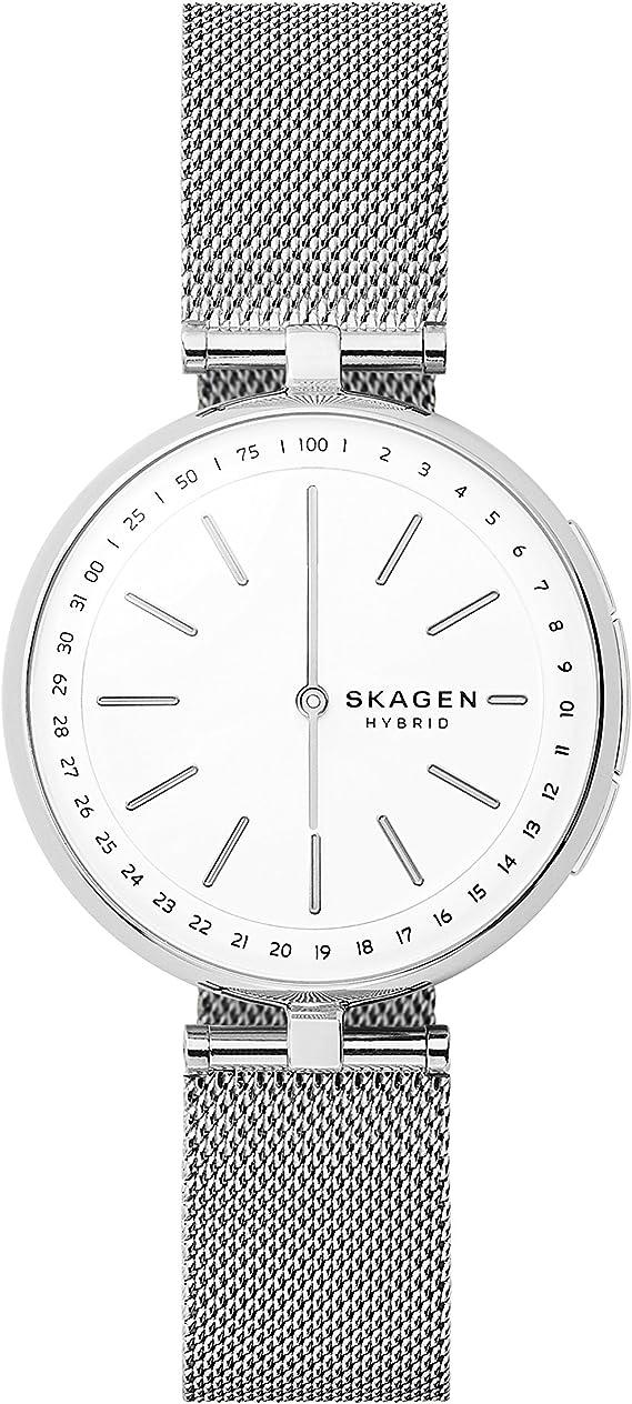Skagen Smartwatch Analogico para Unisex de Cuarzo con Correa en ...
