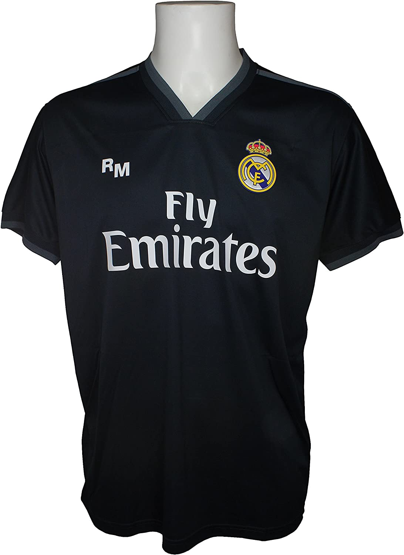Real Madrid FC Camiseta Adulto Replica Oficial Segunda Equipación 2018/2019 (L): Amazon.es: Deportes y aire libre