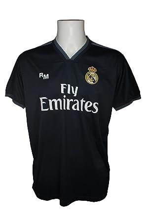 Real Madrid FC Camiseta Adulto Replica Oficial Segunda Equipación 2018/2019: Amazon.es: Deportes y aire libre
