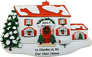 Personalized Our New Home Christmas Ornament 2021