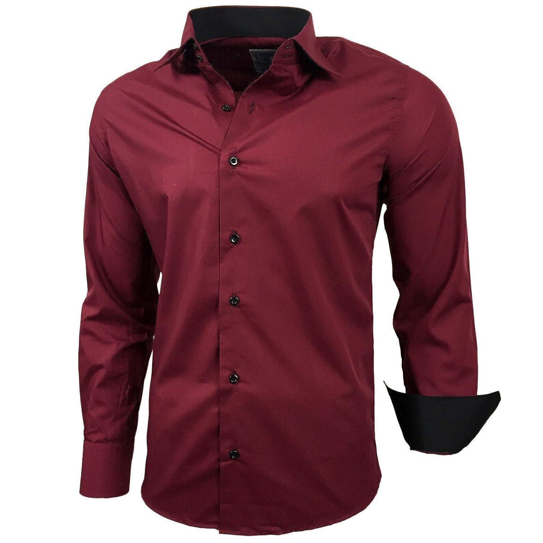 Camisa, estilo elegante, polo, corte ajustado, talla S M L XL XXL R-44