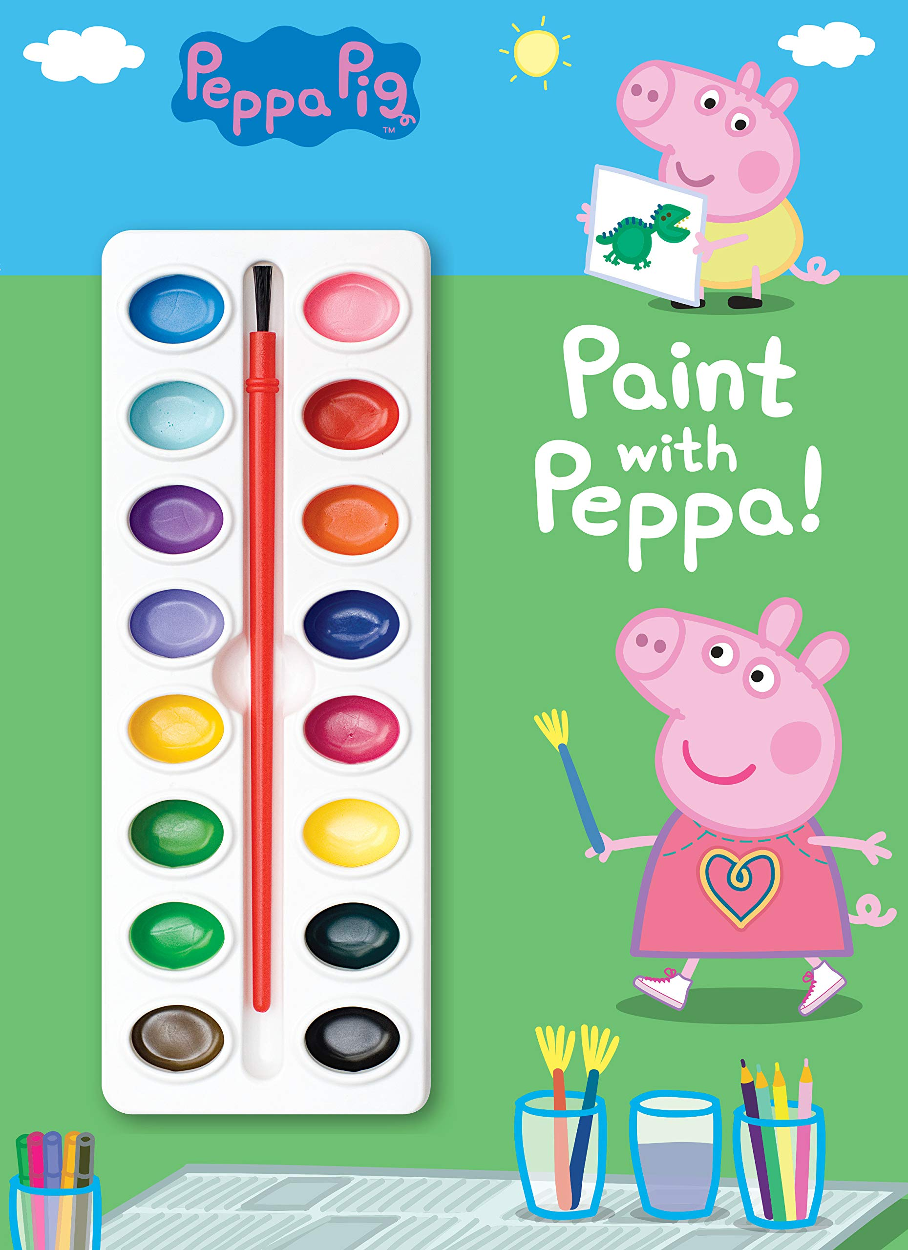 Paint with Peppa! (Peppa Pig): Golden Books, Golden Books ...