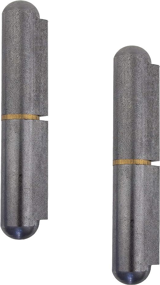 Gedotec T/ürscharnier zum anschwei/ßen Metall Anschwei/ßb/änder 2-teilig f/ür Metall-T/üren Tragkraft 290 kg 2 St/ück Anschwei/ßscharnier H/öhe: 150 mm MADE IN GERMANY T/ürb/änder f/ür Tore /& Mas