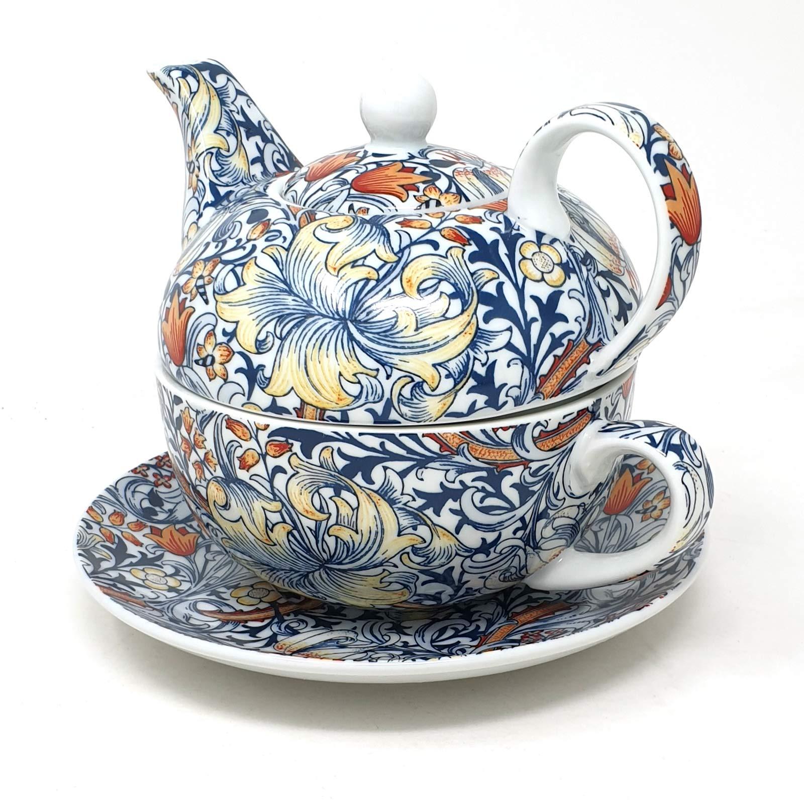 Golden Lily Tea Pot By Lesser /& Pavey