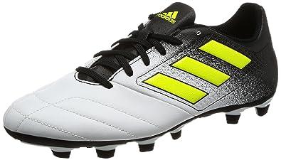 a9d452eca64 Adidas Men s Ace 17.4 FxG Ftwwht Syello Cblack Football Boots - 9 UK ...