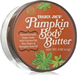 Trader Joes Pumpkin Body Butter - Luxurious Body Butter Made with Coconut Oil, Shea Butter & Pumpkin Seed Oil - 8oz., 227g.
