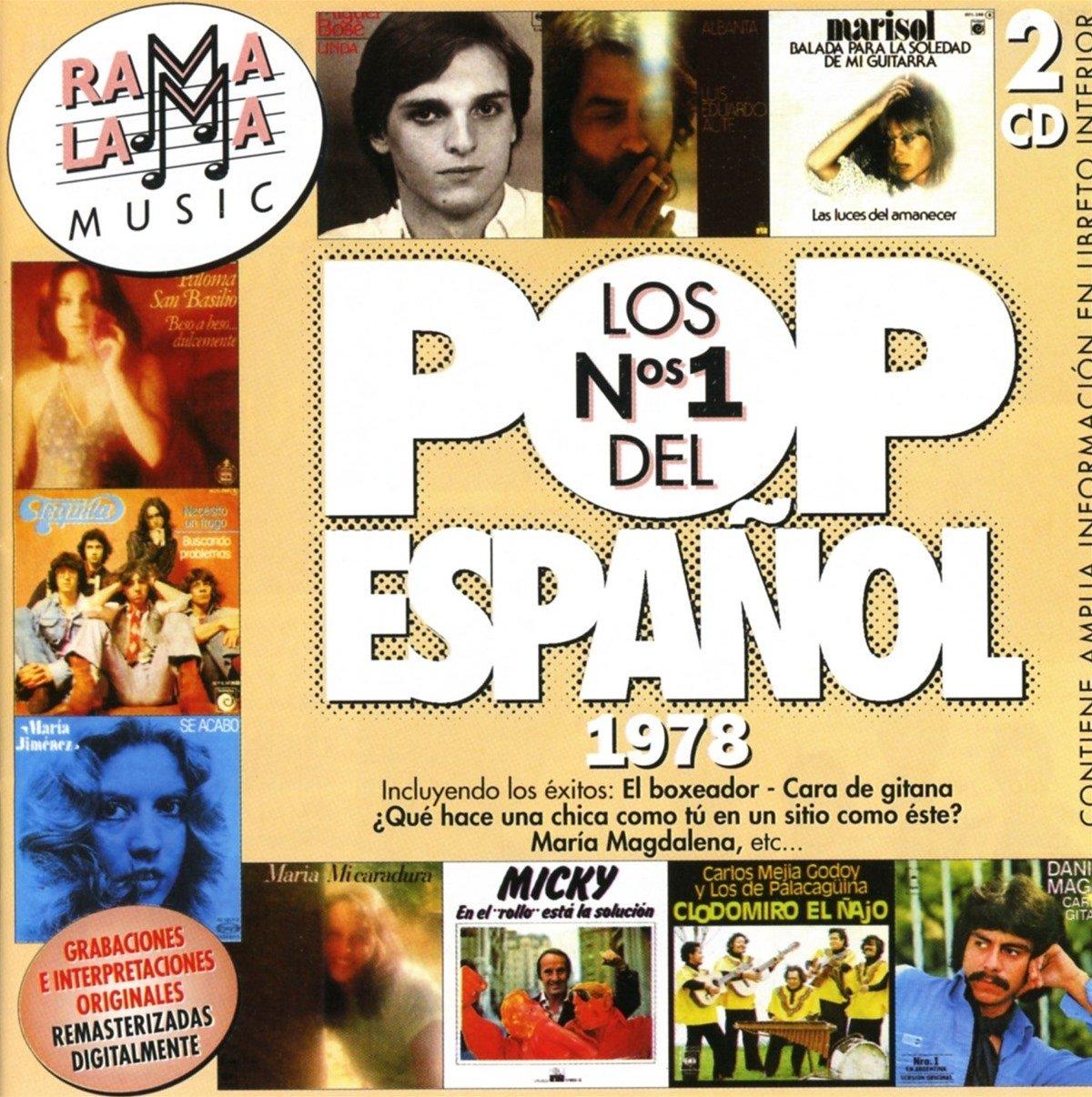 Colección Los Números uno del Pop Español: Lo mejor del Pop ...