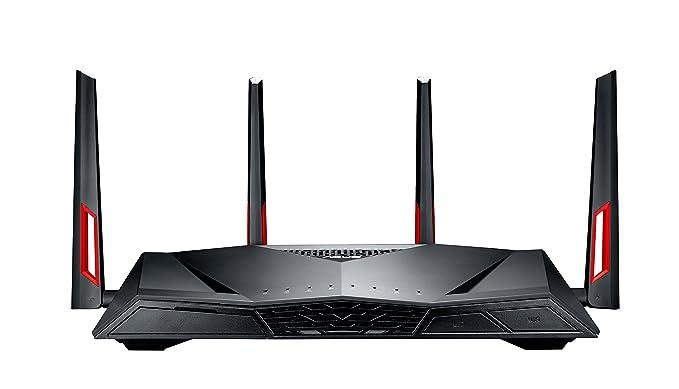 ASUS DSL-AC88U - Módem Router Gaming G.fast/VDSL2/ADSL2+ AC3100 Doble Banda Gigabit (Doble WAN, USB 3.0): Asustek: Amazon.es: Informática