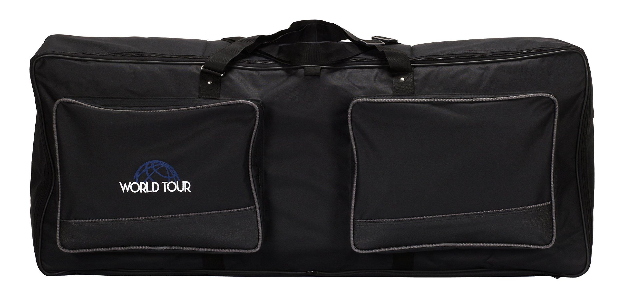 World Tour Keyboard Gig Bag, 41 x 16 x 6 in.