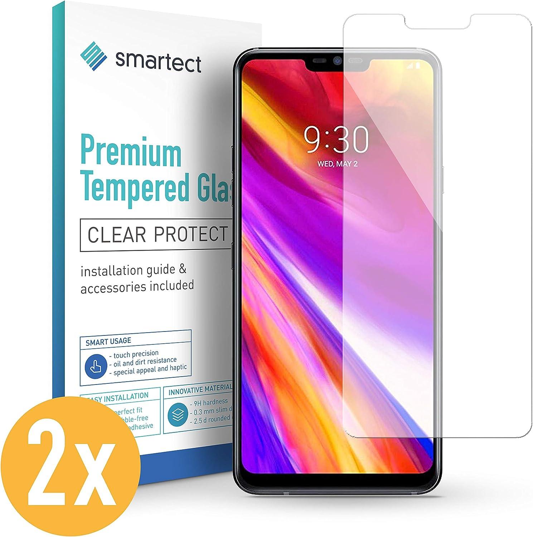smartect Cristal Templado para Móvil LG G8 ThinQ [2 Unidades ...