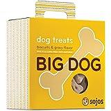 Sojos Big Dog Crunchy Natural Large Dog Treats, 12-Ounce Bag