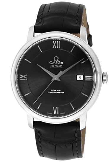 wholesale dealer 0a6b3 dc6b9 [オメガ] 腕時計 デ・ビル ブラック文字盤 コーアクシャル自動巻 クロノメーター 424.13.40.20.01.001 並行輸入品