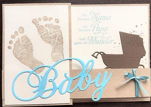 Karte Grußkarte Geschenk Hochzeit Taufe Geburt Baby