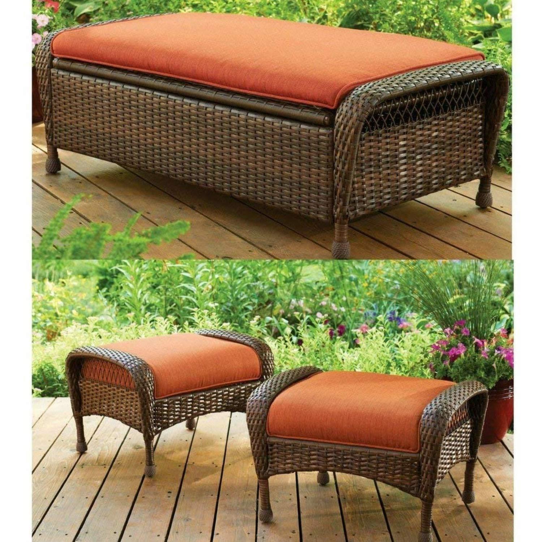 Amazon.com : Better Homes and Gardens Azalea Ridge Ottomans chair ...