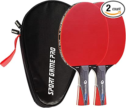 Amazon.com: Ping Pong JT-700 - Pala de pádel (incluye funda ...