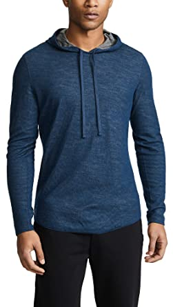 01866404fc2b Amazon.com  Vince Men s Double Knit Hoodie  Clothing