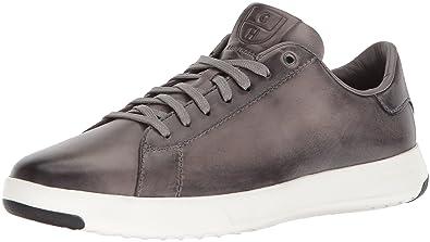 8df41ae920 Cole Haan Men's Grandpro Tennis Sneaker, Ironstone Handstain, 7.5 Medium US