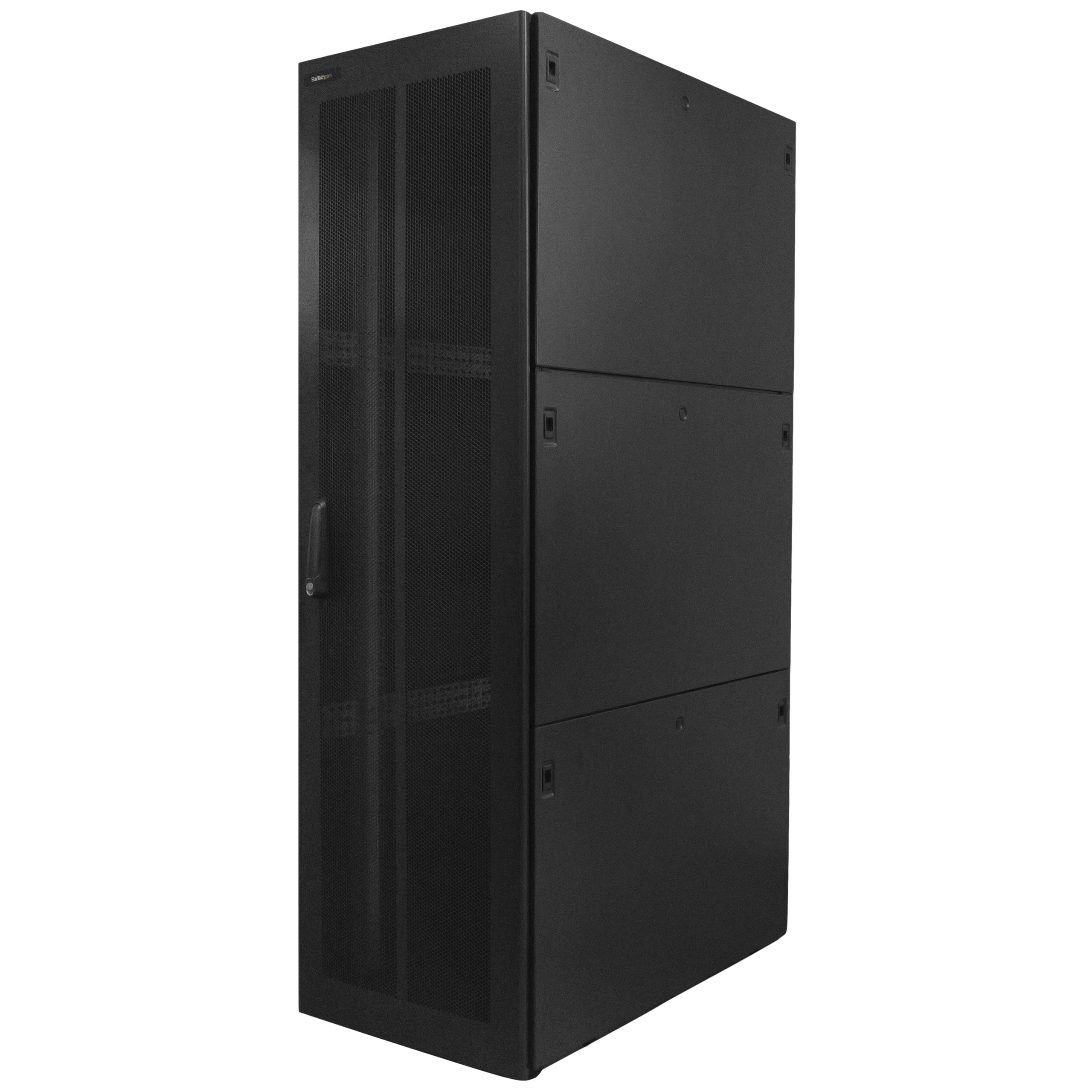 StarTech.com 42U Rack Enclosure Server Cabinet - 29.9 in. Deep - Split Rear Door