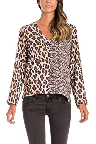 Salsa Blusa Estampado Animal