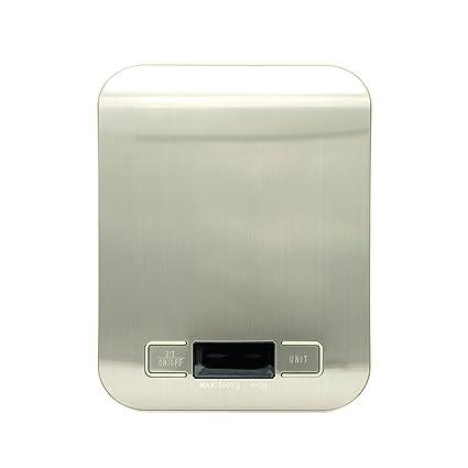 Báscula digital de cocina. Precisa báscula digital de alimentos para pesar ingredientes al hornear,