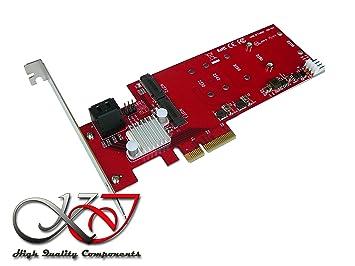 KALEA-INFORMATIQUE - Tarjeta controladora PCIe M.2 NGFF (2 ...