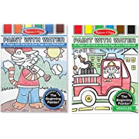 Melissa & Doug Paint With Water Set - Vehicles and More