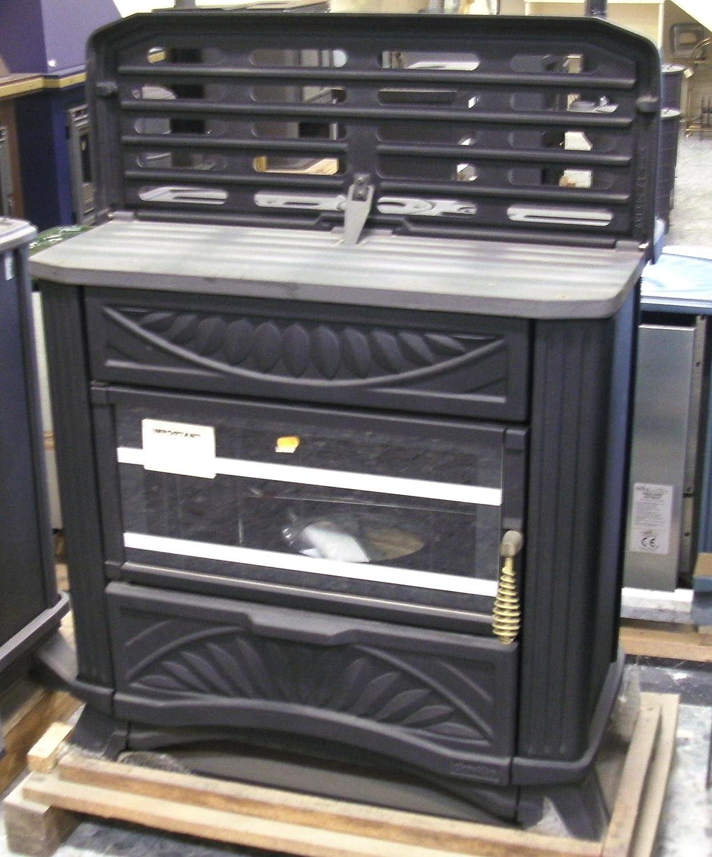 Estufa de gasoil con revestimiento de hierro fundido y potencia de 9,3 kW: Amazon.es: Bricolaje y herramientas