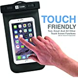 Zaar Waterproof Mobile Pouch Case for Underwater, Advanced IPX-8 Universal Waterproof Case Underwater Dry Bag Compatible with All Mobiles [ HOT New Release ]