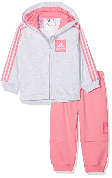 adidas Mädchen Trainingsanzug mit Kapuze