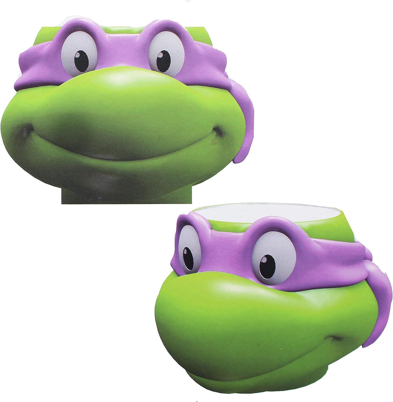 Surreal Entertainment Teenage Mutant Ninja Turtle Donatello Molded Ceramic Bowl