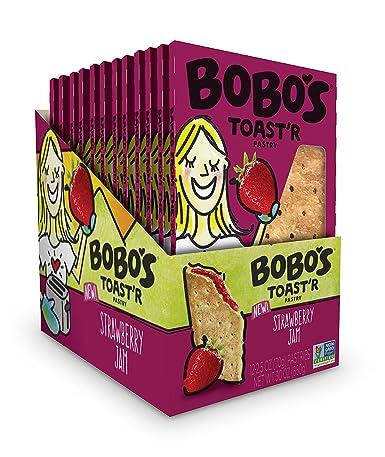 Barras de avena de Bobos Toastr Pastry, mantequilla de ...
