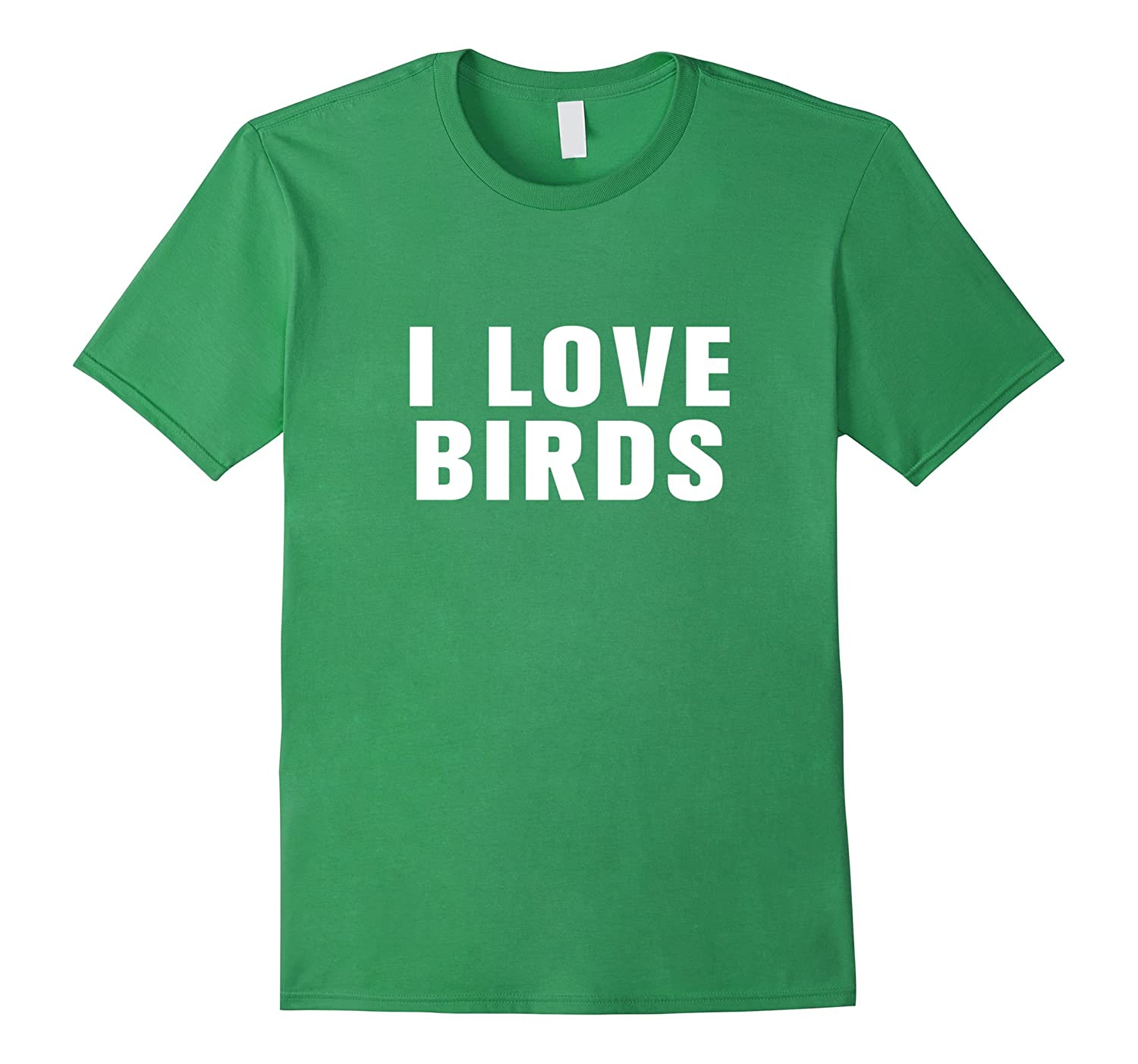 I love birds t-shirt-Art