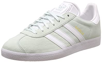 newest 019f8 2ffa1 Adidas Damen Gazelle Sneakers - Grau (Ice MintWhiteGold Metallic) ,