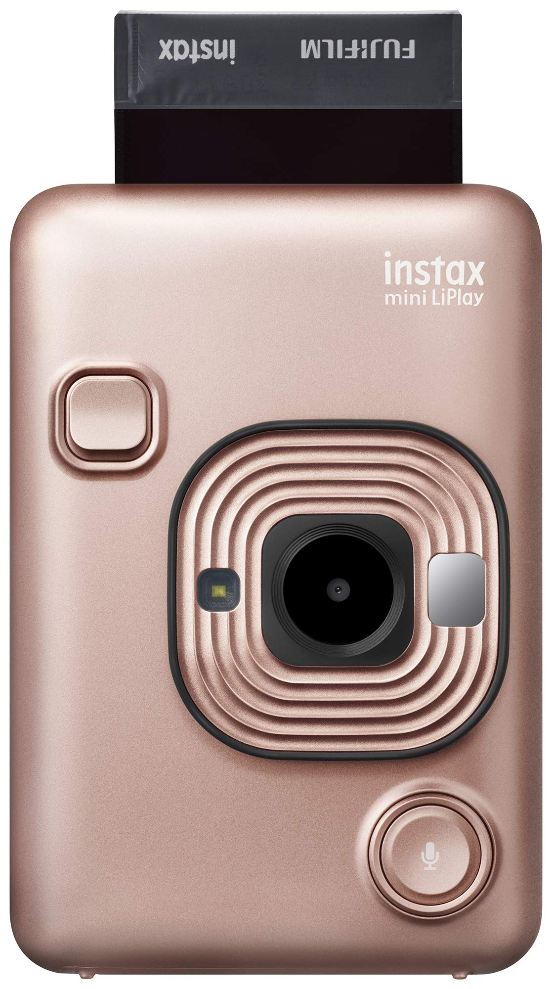 Instax Mini Liplay Hybrid Instant Camera - Blush Gold