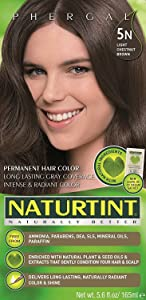 5N Light Chestnut Brown Naturtint Naturally Better 5.6 Fl oz