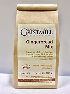 product image for Homestead Gristmill — Non-GMO, Chemical-Free, All-Natural Gingerbread Mix (2 Pack)