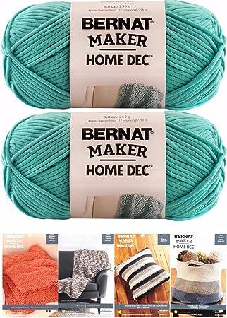 Amazon.com: Bernat Maker Home Dec - Ovillo de lana con ...