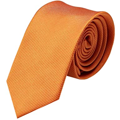 GASSANI - Corbata - para hombre Naranja naranja: Amazon.es: Ropa y ...