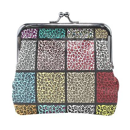 COOSUN Conjunto de Patrones de Leopardo del Cuero de la ...