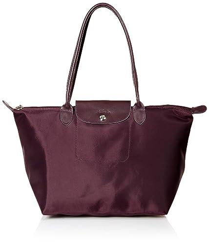 fdfff0236db0 Longchamp Le Pliage Neo Large Shoulder Tote Women Purple Tote ...