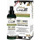 Odor Eliminator Foot & Shoe Sanitizer Spray 4Oz | Antibacterial Disinfectant Spray & Shoe Deodorizer Spray | 100% Natural Ing