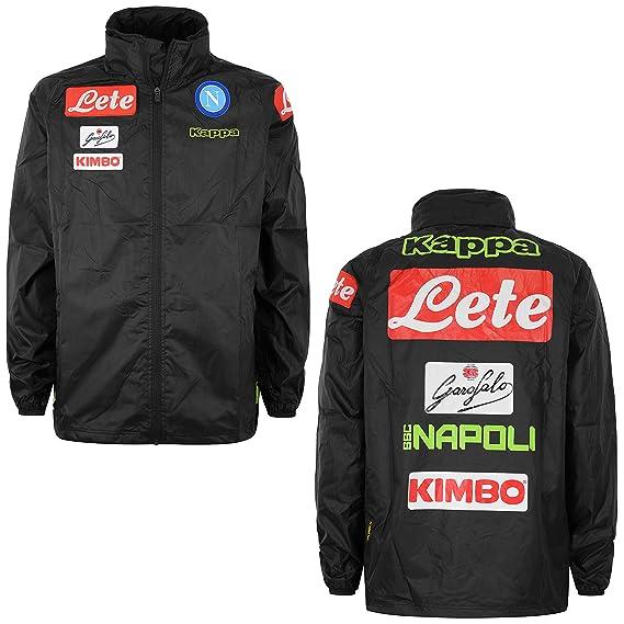 SSC Napoli wind jacket  Amazon.co.uk  Sports   Outdoors ab6f38e18889
