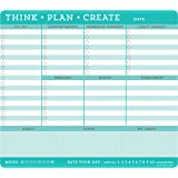 create mouse pad cork think plan create mousepad note pad 60 sheets amazonin buy desk memo mouse pad value pack notepad paper