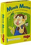 Haba 4732 - Mimik-Memo - Gioco di carte da apprendimento della mimica labiale [Lingua tedesca]