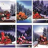 Biglietti di Natale con motivi natalizi, 50pezzi Biglietti d' auguri Natale 22-0001biglietto di auguri di Natale biglietti di auguri