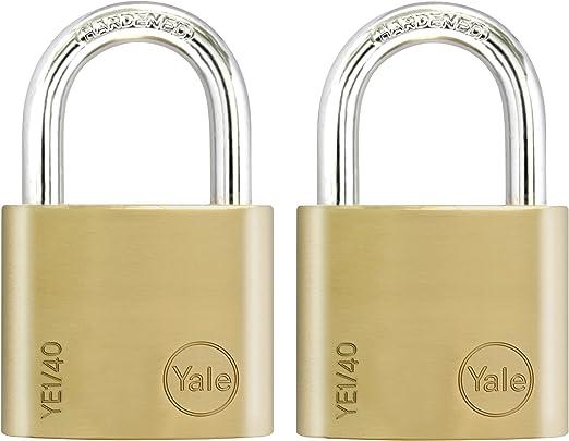 Yale laiton cadenas avec 3 clés 30mm//40mm//50mm//60mm