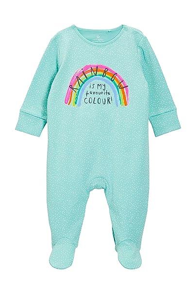 next Bebé-Niñas Pijamas Tipo Pelele con Arcoíris (0 Meses - 2 Años) Teal 1.5-2 años: Amazon.es: Ropa y accesorios