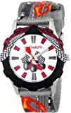 Red Balloon Red Balloon Speed Racing Tween Stainless Steel children's quartz Watch with white Dial analogue Display and grey fabric Strap W000343